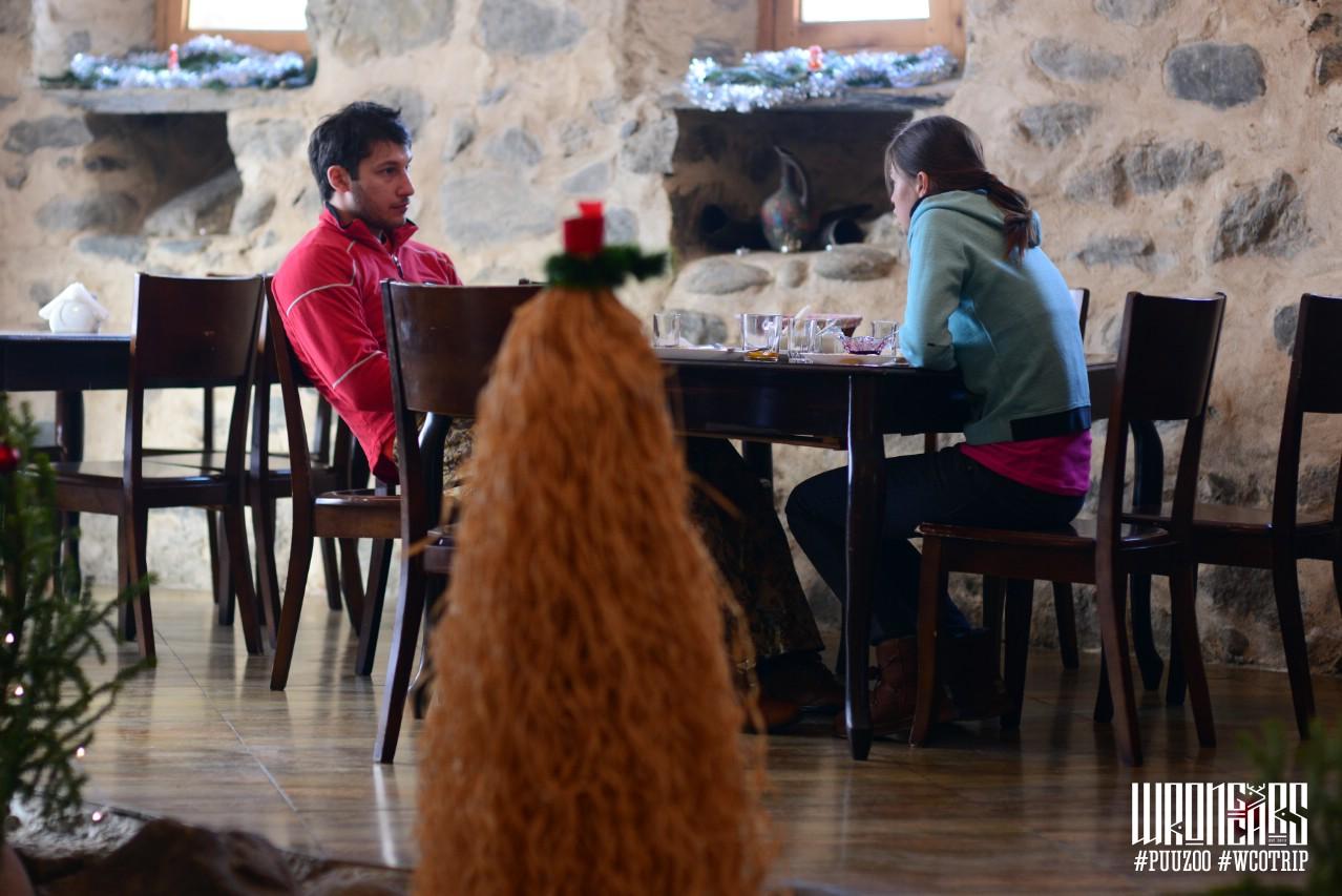 В компании грузинской ёлки.