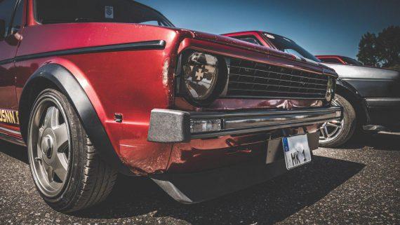 Комплект бамперов VW GOLF MK1