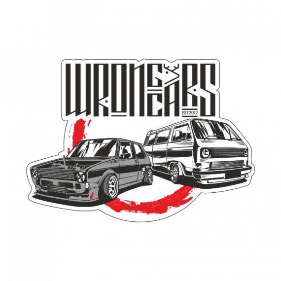 Наклейка VW Golf MK1 & Transporter T3
