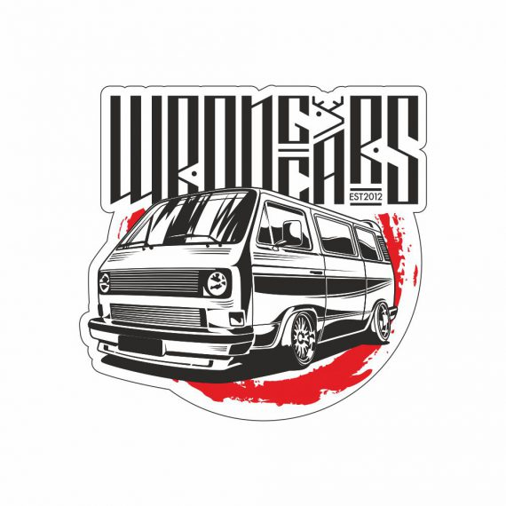 Наклейка VW Transporter T3