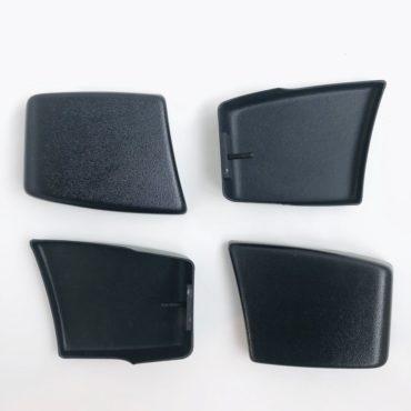 Накладки на короткие бампера (клыки) (VW Golf, Cabrio Cadyy, Jetta MK1)