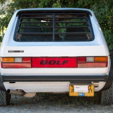 Жалюзи заднего стекла VW GOLF MK1